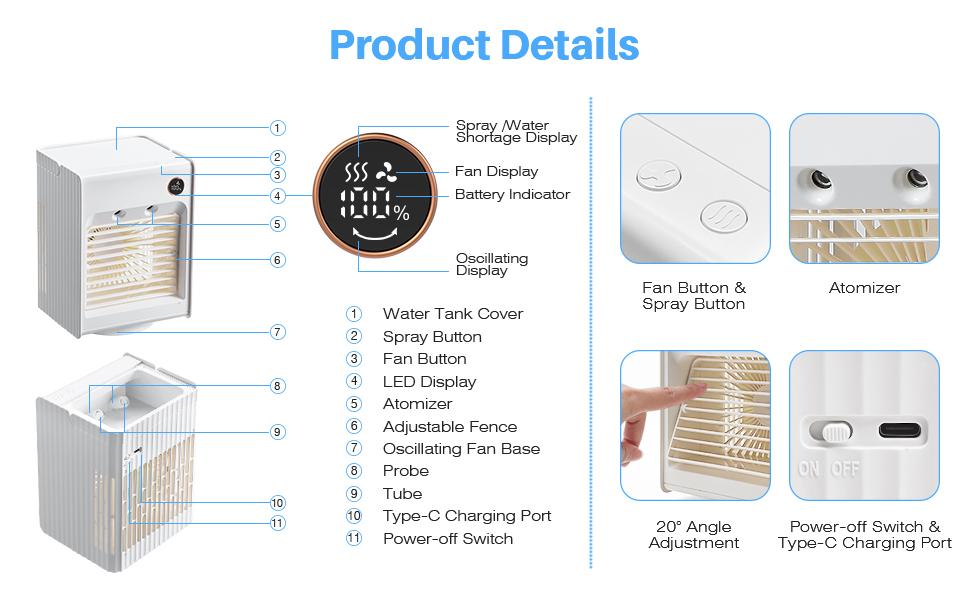 portable cooler fan