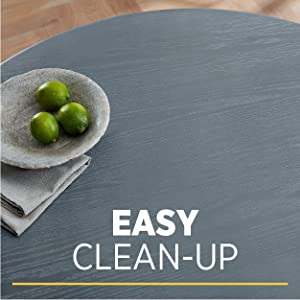 Easy clean-up