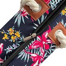 Große Strandtasche mit Muster
