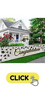 Congratulation Yard Sign Banner