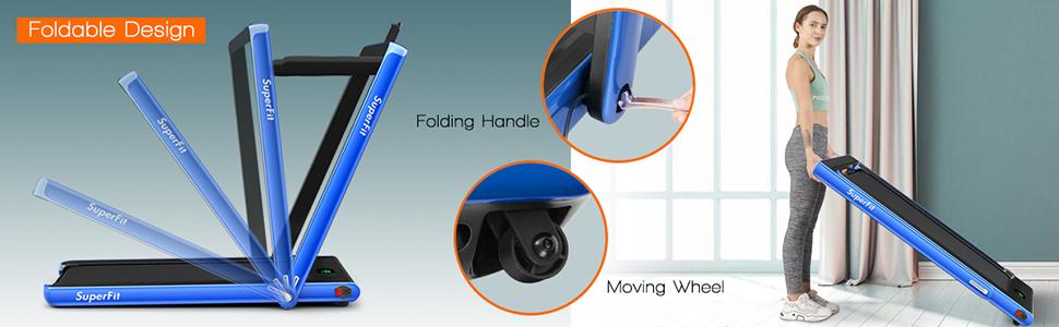folding design for easy storage
