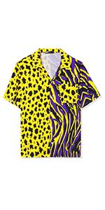 Leopard Patchwork Shirts