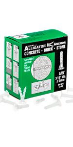 13103 TOGGLER Alligator Anchors AF5 - 200 pack