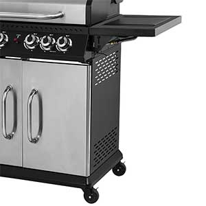 Barbecue Gaz Brasero Perth Inox 4 Feux