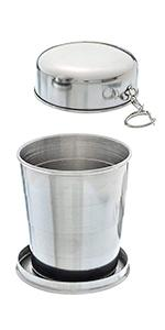 stainless steel ASR Outdoor collapsible cup camping gear camping supplies tools camp kitchen