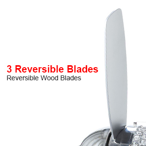 reversible blades