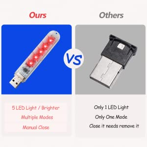 mini usb light is very powerful