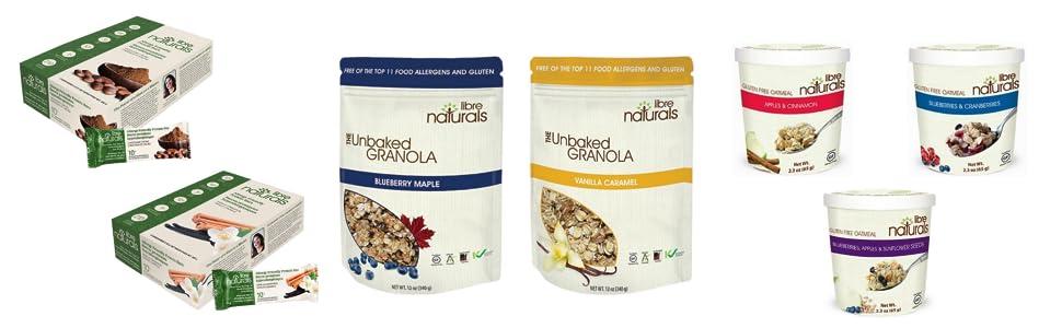 Granola Bars - Product Page Bottom Banner