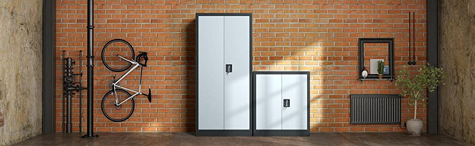 JINKUR Metal Storage Cabinet