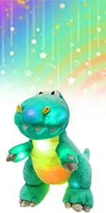 Glowing Dinosaur
