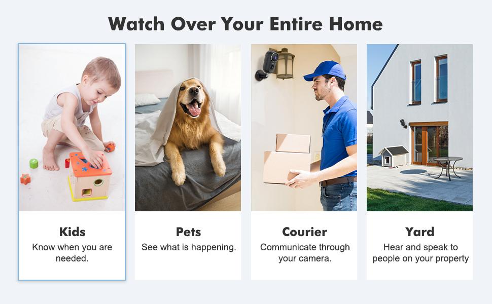 wifi cameras for home security