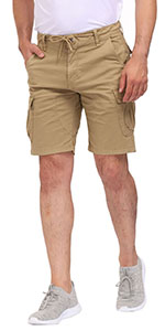 Work Cargo Shorts for Men