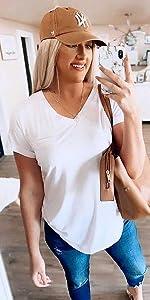 camiseta de mujer verano