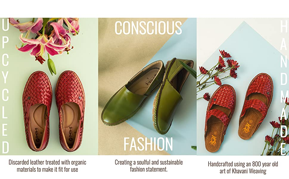 HANDCRAFTED   UPCYCLED   CONSCIOUS FASHION