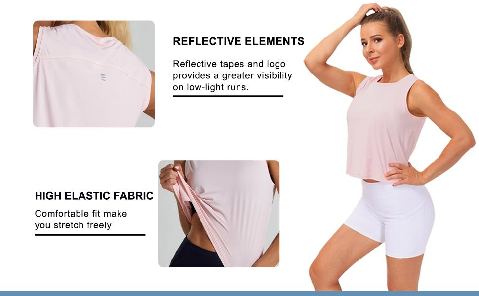 Ice Silk Workout Tops