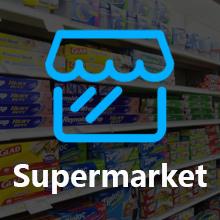 supermarket barcode scanner