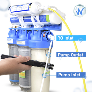 Easily Connect Pump to RO