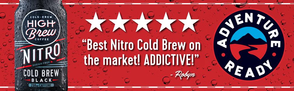 Nitro Cold Brew - Black