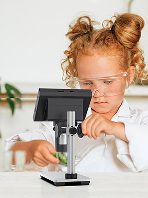digital microscopes with screen