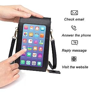 touch screen handytaschen