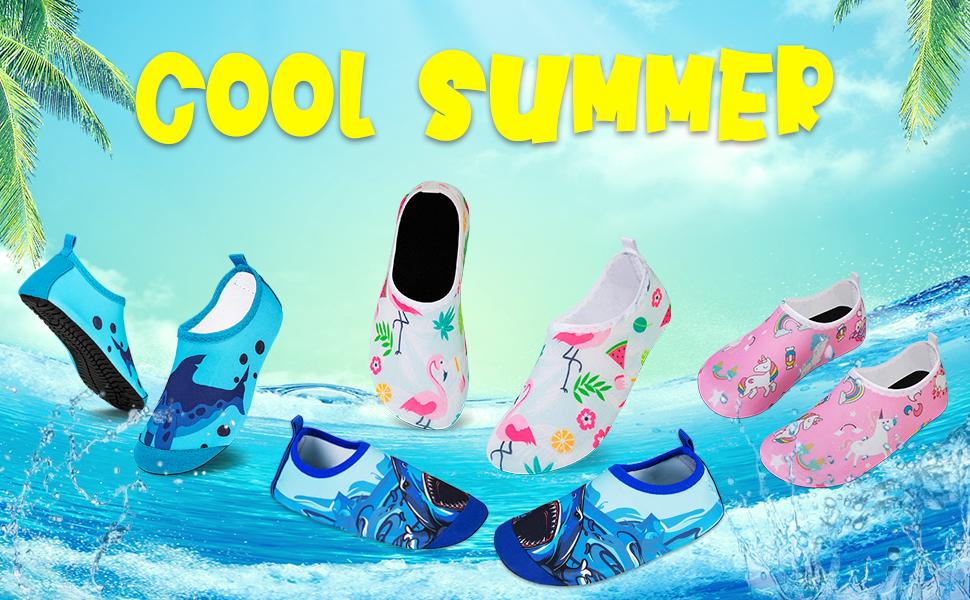 hmiya kids water shoes