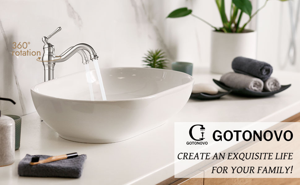 Vessel Sink Faucet Single Handle