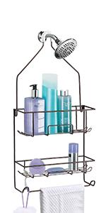 Bronze Large Shower Caddy