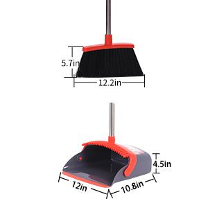 more bigger broom and dustpan