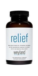 Relief supplement
