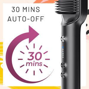 TYMO Hair Straightening Brush AUTO-OFF
