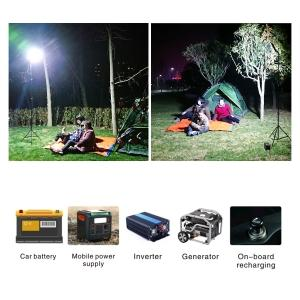 led lights for camping lights for camping outdoor equipment camping telescoping light pole