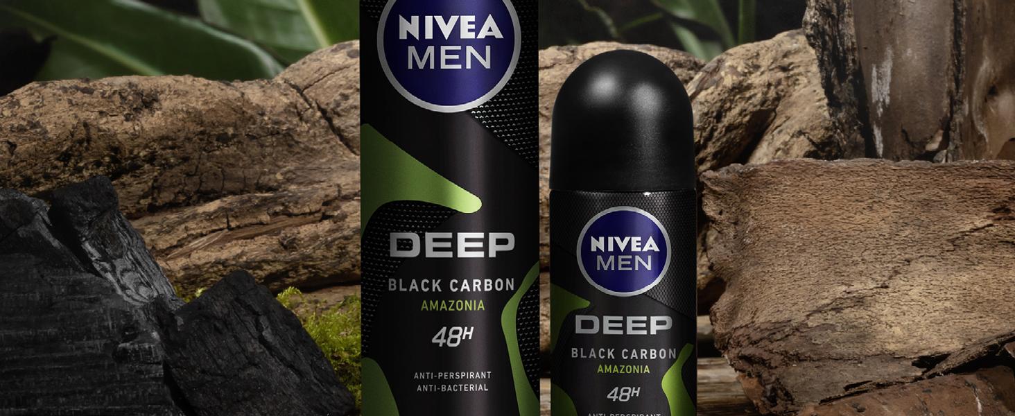 nivea, deodorant, roll-on deodorant, aerosol deodorant, deodorant for men, anti-perspirant