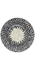 woven charger plates