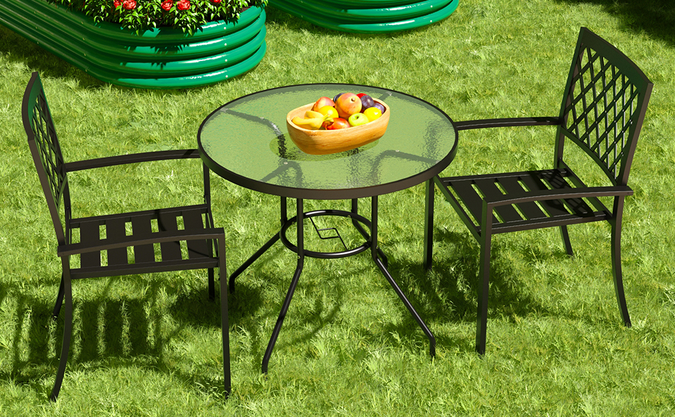 JINLLY PATIO DINING TABLE