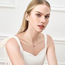 Love Heart Women Necklace