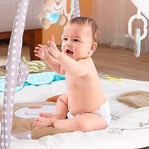 Baby gym sit