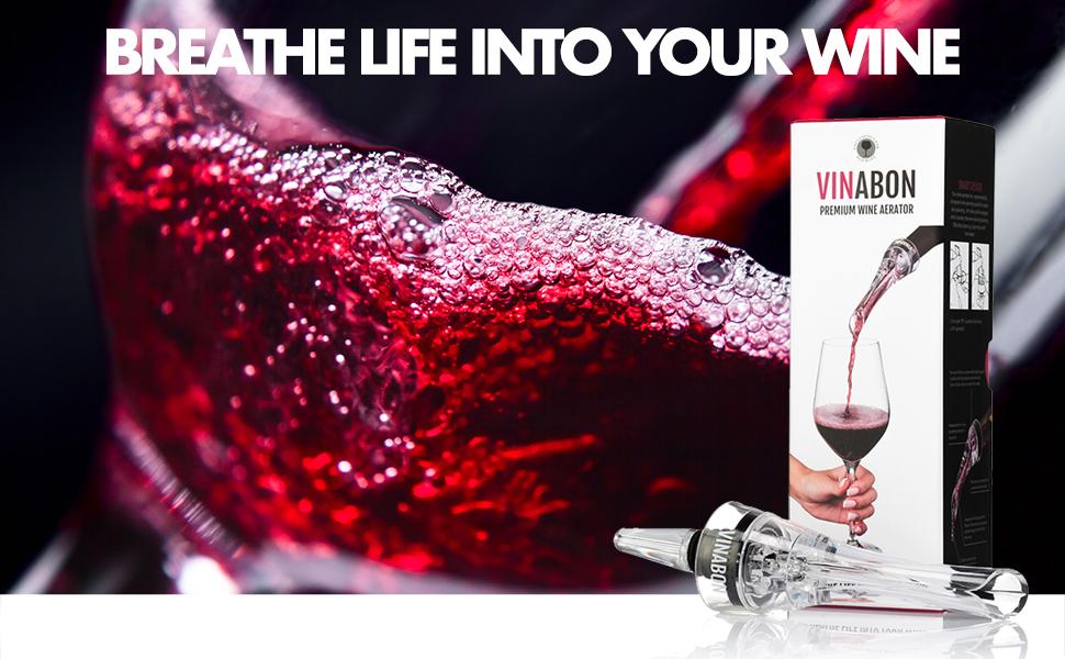 breath life into your wine