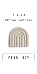 Mushie Shape Teethers