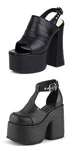 high heel pumps for women platform pumps