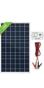 10w solar panel kit