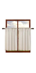 burlap curtains 45 inch