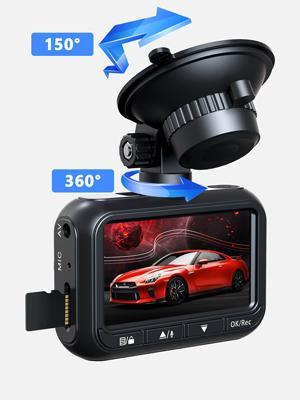 Toguard 360 adjusted dash cam