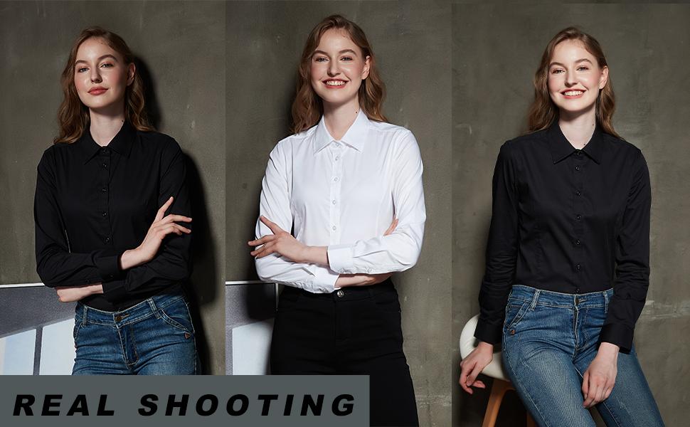 long sleeve collar shirt womens,shirt buttons,long sleeve button up shirt men,BLACK SHIRT WOMEN