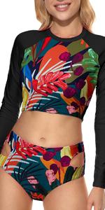 Multicolor surf suit