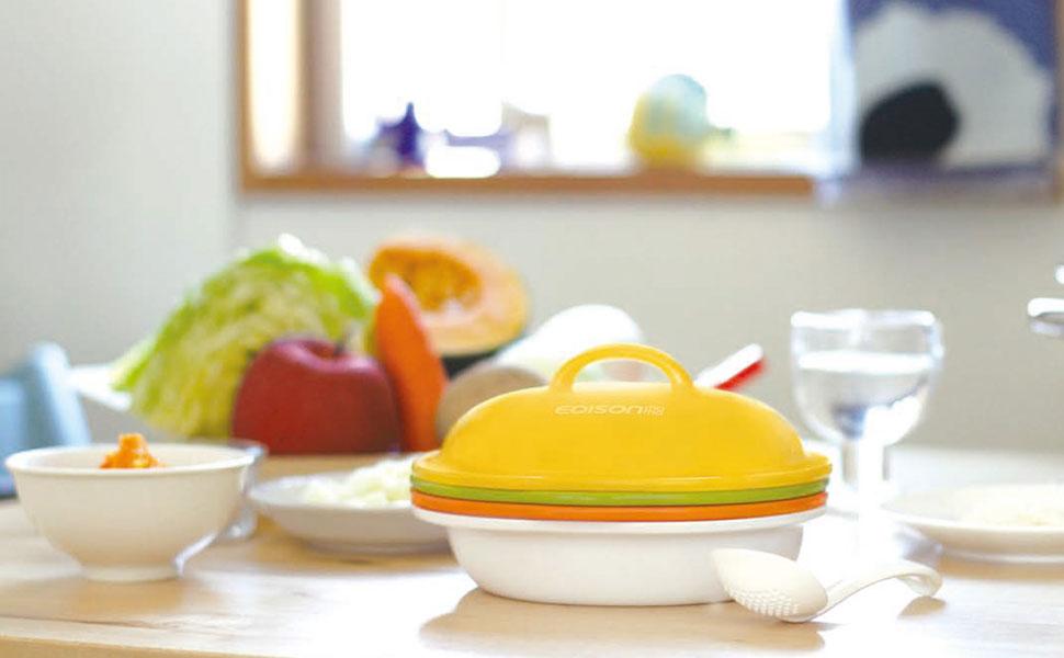 ママごはんつくって、画像1、キービジュアル、ヘッダー、離乳食、調理器、セット