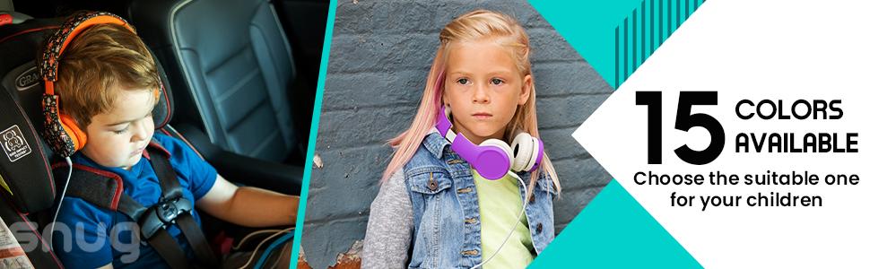 kids volume limiting headphones