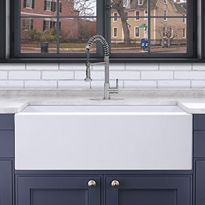 Apron Front Sink Porcelain