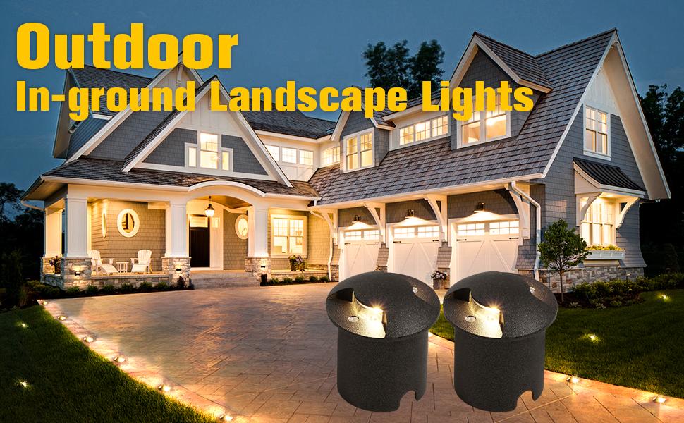 Outdoor In-ground Landscape Light