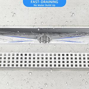 linear shower drain 24 linear shower drain shower drain brushed nickel low profile shower drain