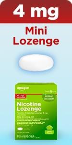 4 mg nicotine mini Lozenge